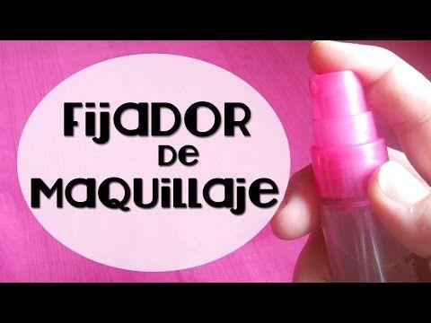 Como hacer un Fijador de Maquillaje para Piel Grasa | Kawaii MakeUp - YouTube