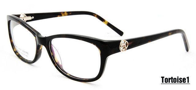 d94440200f New oculos de grau feminino Fashion Glasses Women armacao de oculos Female  Prescription Eyewear in Clear Lens Optical Frame
