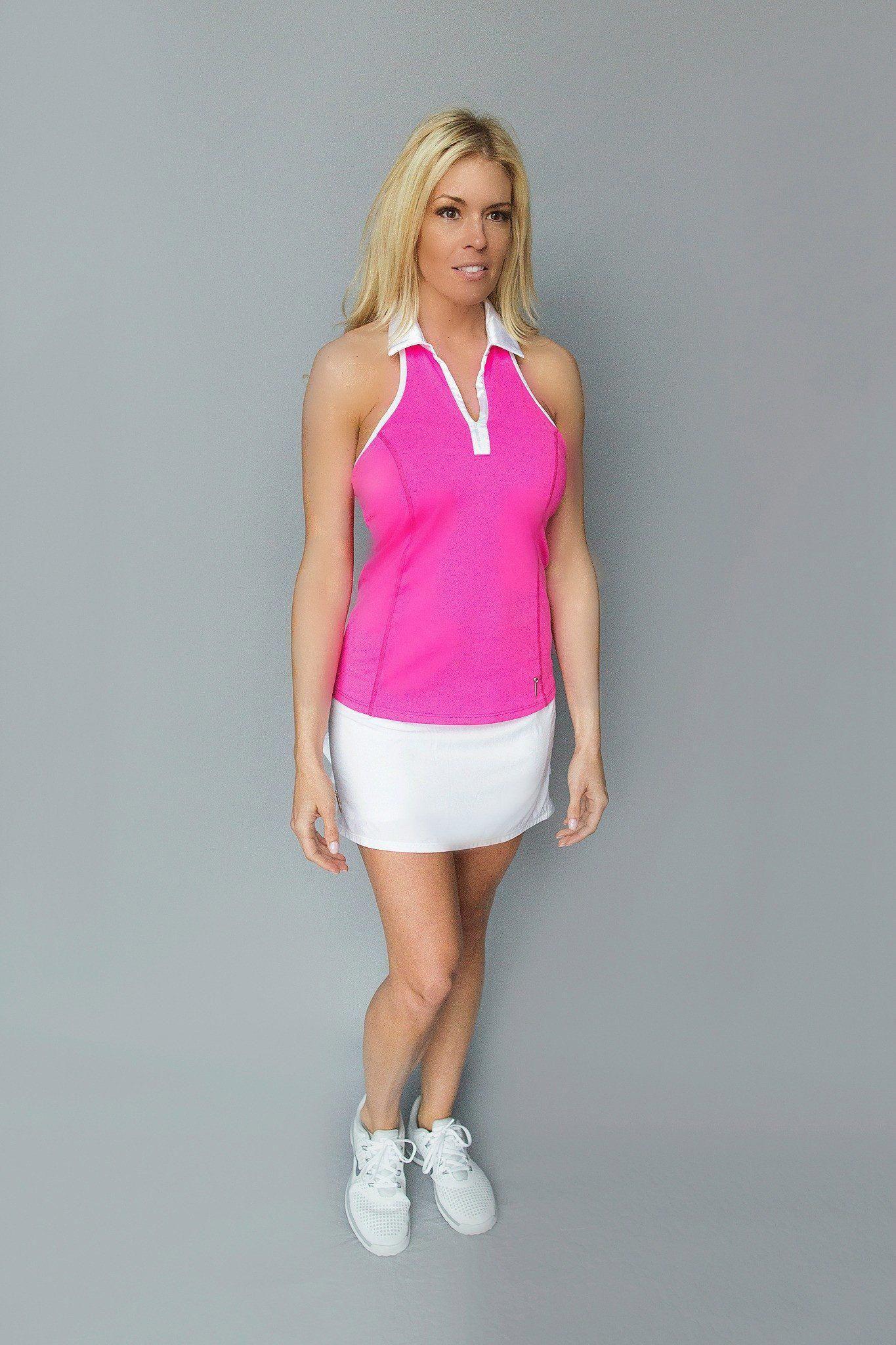 Open Back Golf Dress