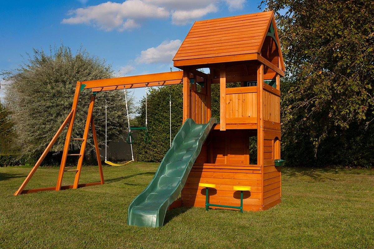 osborn climbing frame with swings slide and monkey bars swing