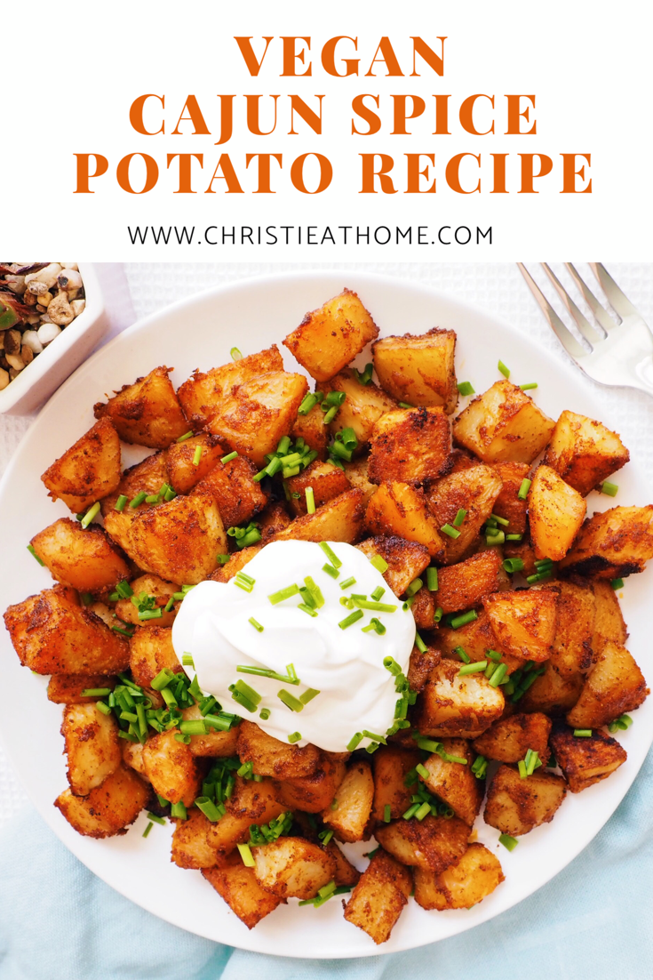 Jun 25 Cajun Spice Potato Recipe Vegan Vegan Recipes
