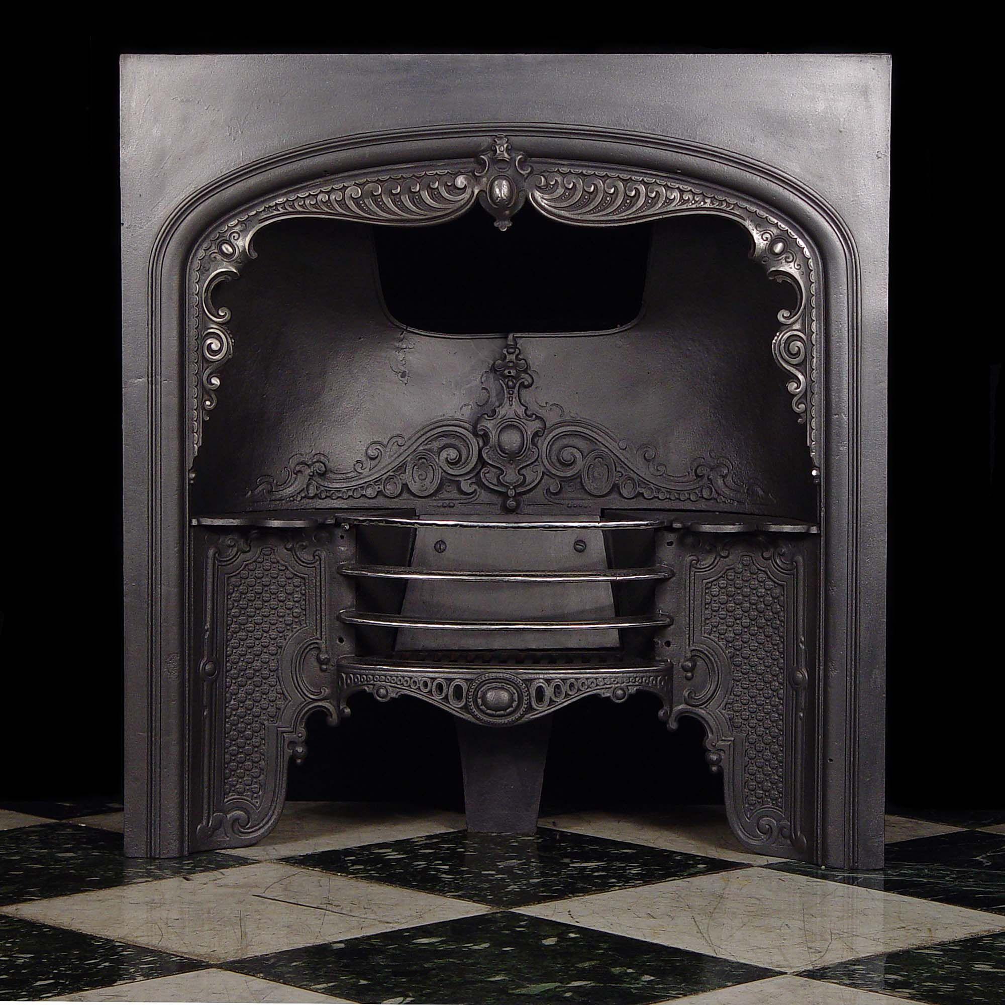 Decorative Grates Registers A Pretty And Decorative Cast Iron Mid Victorian Register Grate