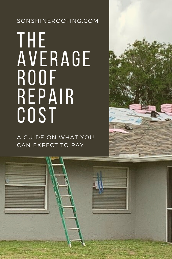 The Average Roof Repair Cost A Guide On What You Can Expect To Pay Roof Repair Cost Roof Repair Repair