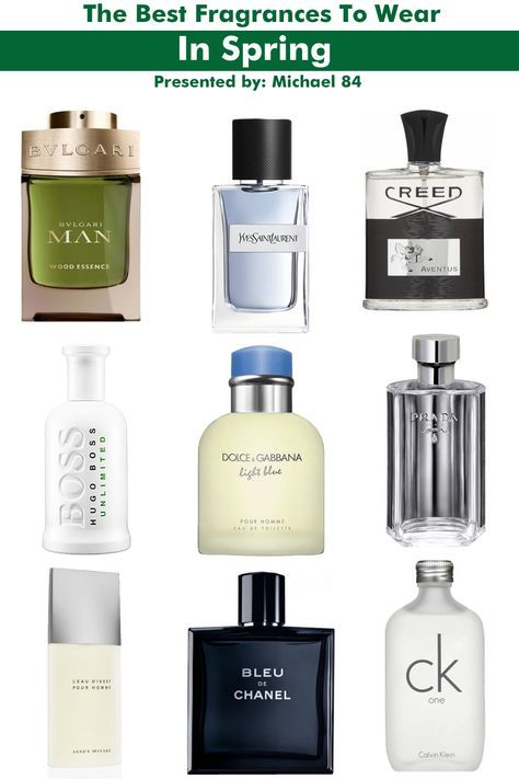 10 Of The Best Men S Fragrances To Wear In Spring Michael