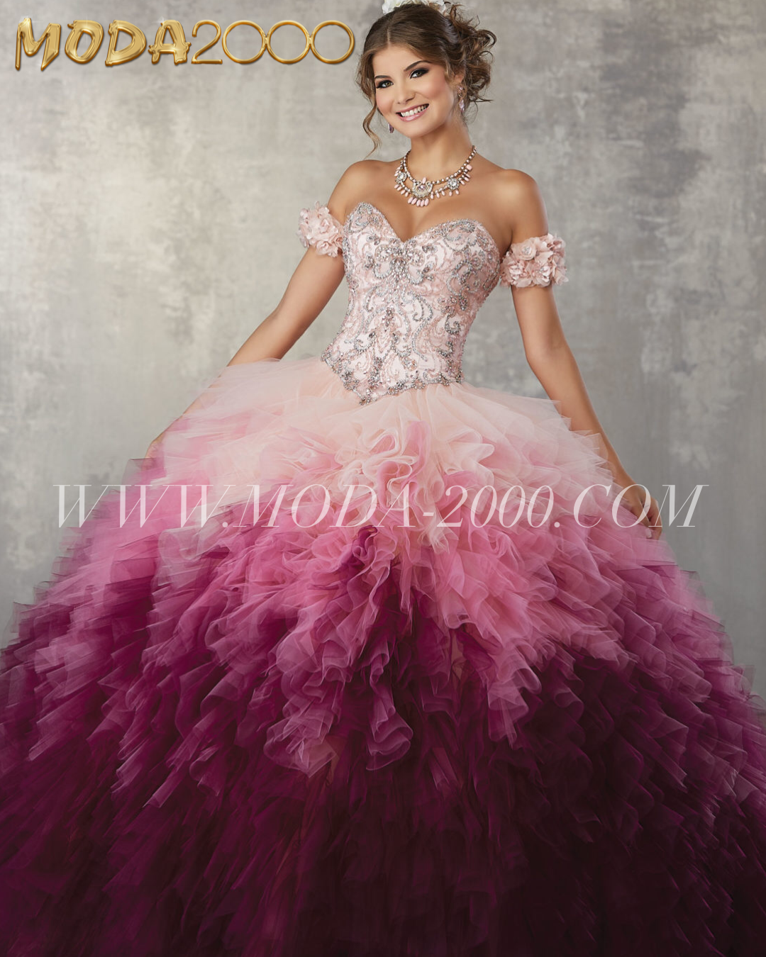 Beaded Blush Burgundy Ombre Off The Shoulder Quinceanera Dress Ruffles Available At Moda 2000 Instag Quinceanera Dresses Quincenera Dresses Ball Dresses [ 1350 x 1080 Pixel ]