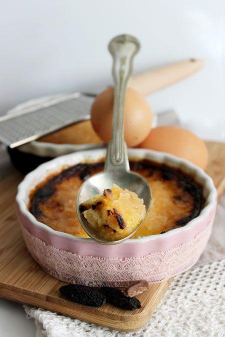 Crèmes brûlées à la fève tonka (au four)
