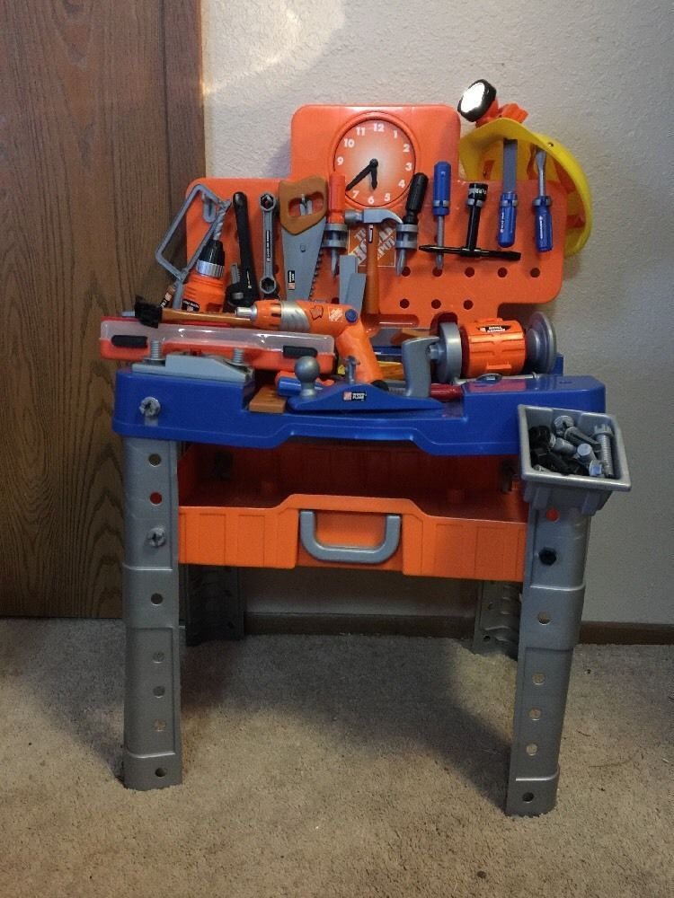 Pleasing Details About The Home Depot Work Bench And Tool Box With Theyellowbook Wood Chair Design Ideas Theyellowbookinfo