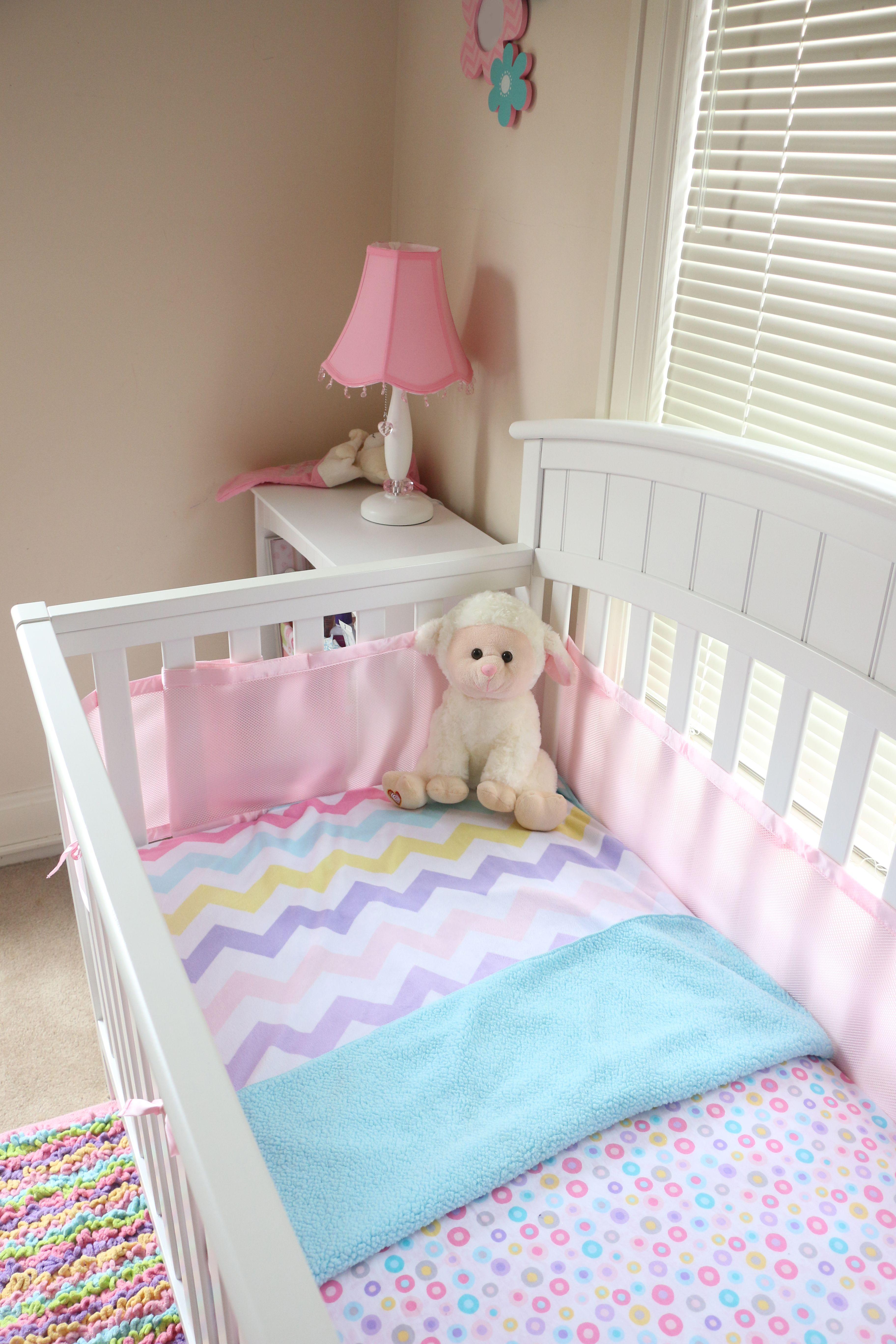 Newborn Baby Girl Simple Crib Setting Crib Sets Toddler Bed Home Decor