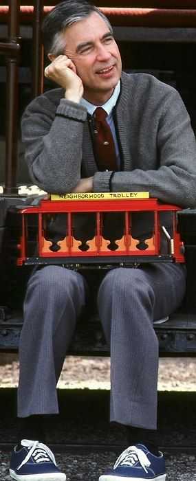 Mr Rogers. I grew up with him & he taught me lots. He was the bomb.
