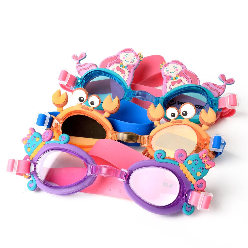 8ddfe23ac6 Kids Cartoon Swimming Goggles Cute Animal Design Eyewear Anti Fog Swim  Glasses  Unbranded