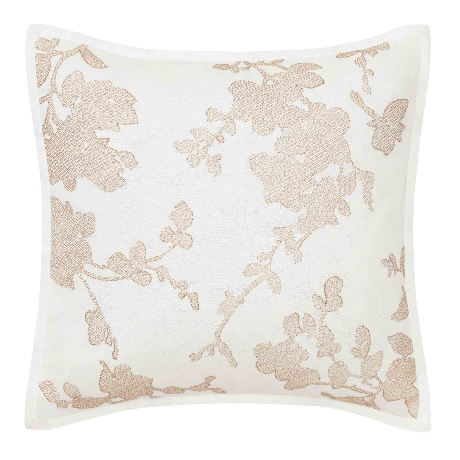 Lorene Crewel Embroidered Square Pillow By Laura Ashley Throw Pillows Square Pillow Embroidered Pillow Covers