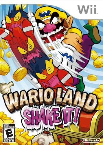 Funny Story When I First Saw The Cover For This Game I Thought The Enemy Wario Was Holding Was A Skateboard And That The Wii Games Wii Video Game Collection