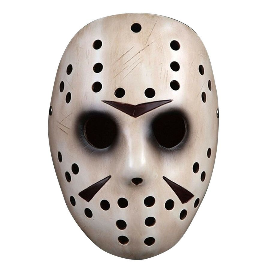 1pc Jason Voorhees Friday the 13th Horror Movie Hockey Mask Scary Halloween Mask
