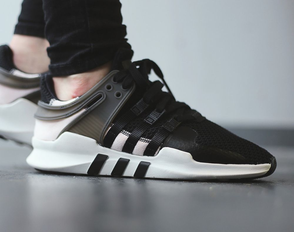 Adidas Eqt Adv Support White Black