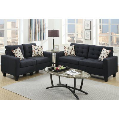 Enjoyable Zipcode Design Amia 2 Piece Living Room Set Products Ncnpc Chair Design For Home Ncnpcorg
