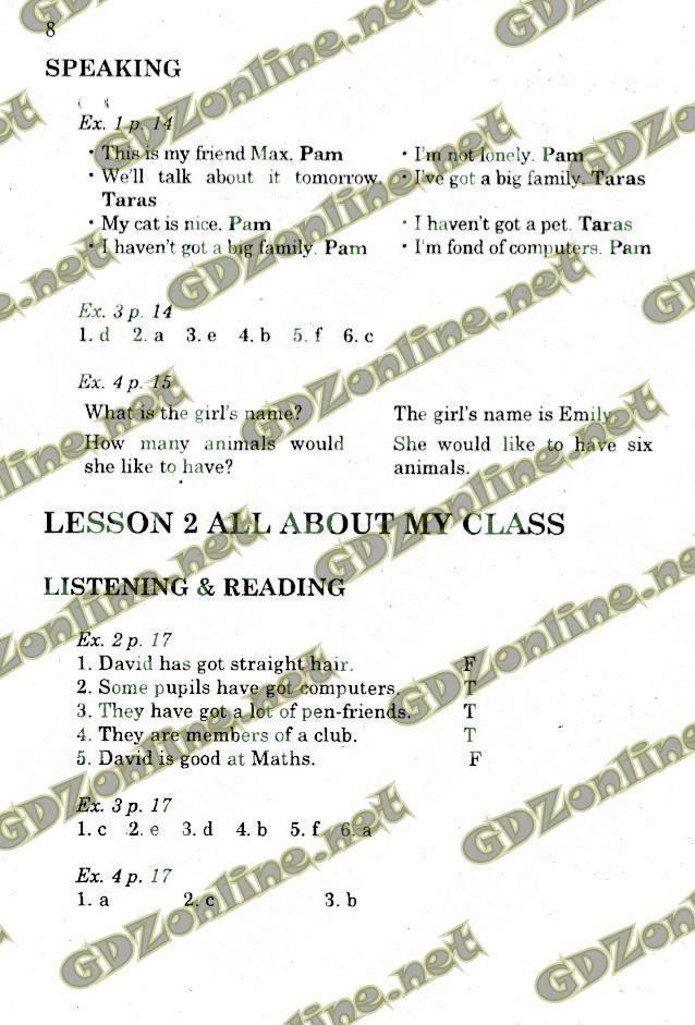 Гдз 5 класс по английскому языку о.карпюк