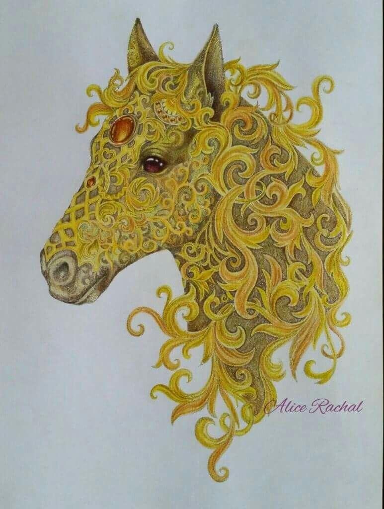 Pin de Shandra Wiley en Coloring Animal Creations & Magical aworld ...