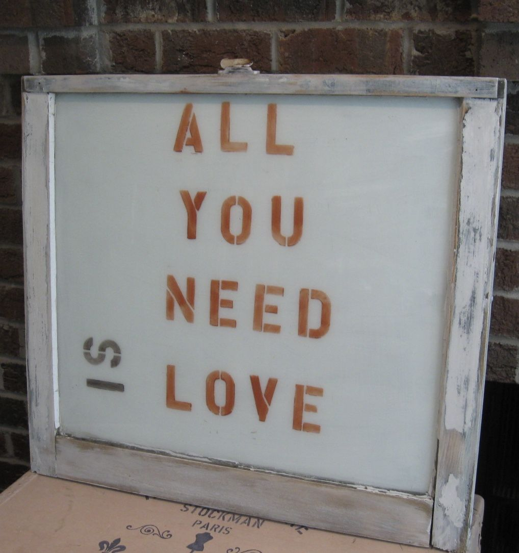 Antique Love is all you need Window Art. Reasonable offers are entertained. Contact me via Pinterest or FB Messenger if interested or visit our Ebay store stores.shop.ebay.... or Etsy.com - Timsantiques1 stores.shop.ebay.com stores.shop.ebay.com Saved from stores.shop.ebay.com SOLD