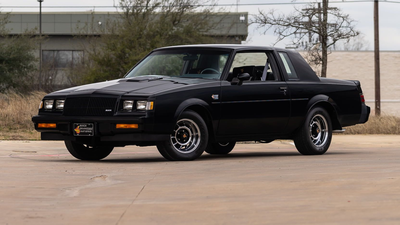 1987 Buick Grand National Presented As Lot F132 At Glendale Az 1987 Buick Grand National Grand National Buick