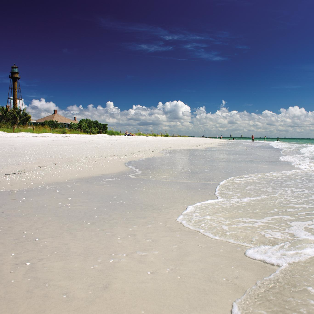 Sanibel Beach: The Beaches Of Fort Myers And Sanibel Island Are A Shell
