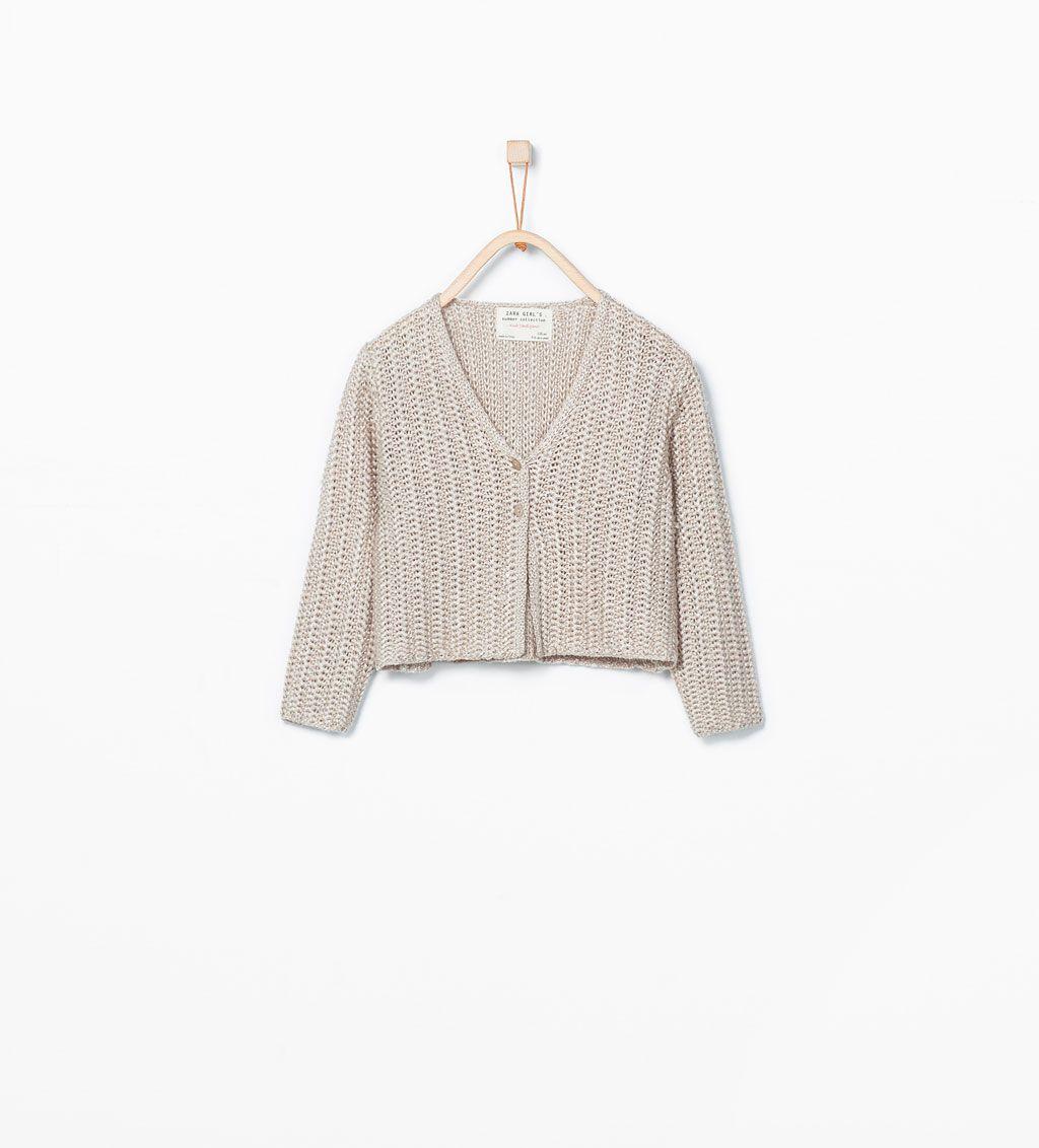 Bild 1 von Jacke mit V-Ausschnitt von Zara