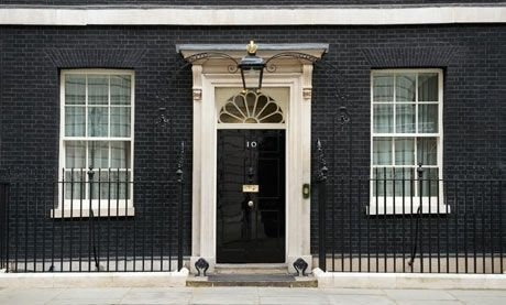 Open up? … 10 Downing Street. Photograph: Johnny Greig/Getty