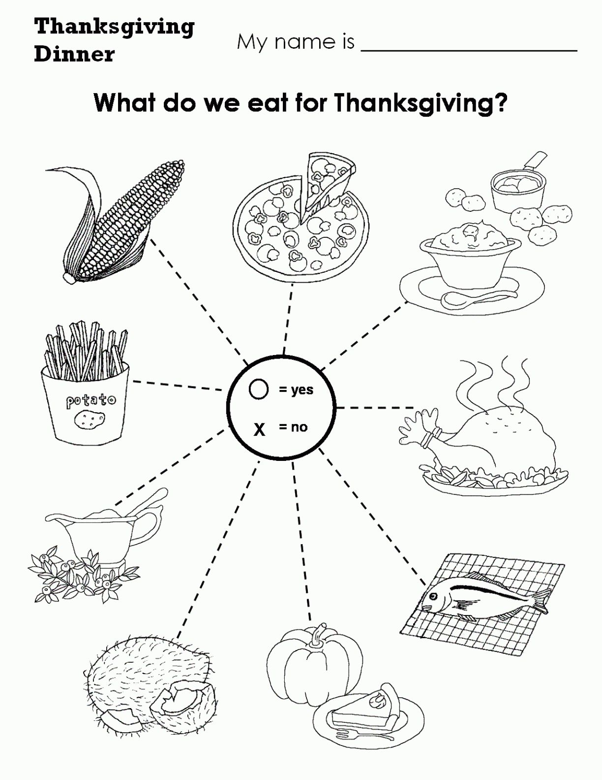 Free Free Thanksgiving Worksheets Pictures