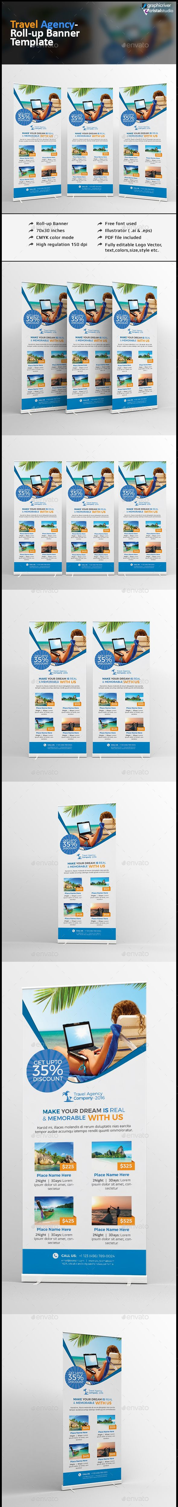 Pin by best Graphic Design on Roll-Up Banner Templates | Rollup