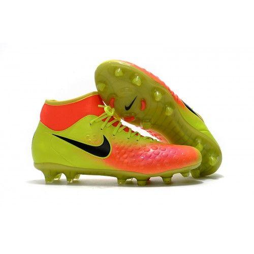 save off 567fc d02d8 ... coupon code comprar botas futbol nike magista obra ii fg high top  baratas online voltnegrastotal naranjas