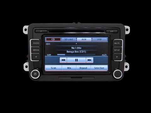 Review of the RCD510 Delphi radio functions  OEM head unit RCD510