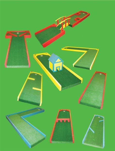Design And Make My Own Miniature Golf Course Carnival Games