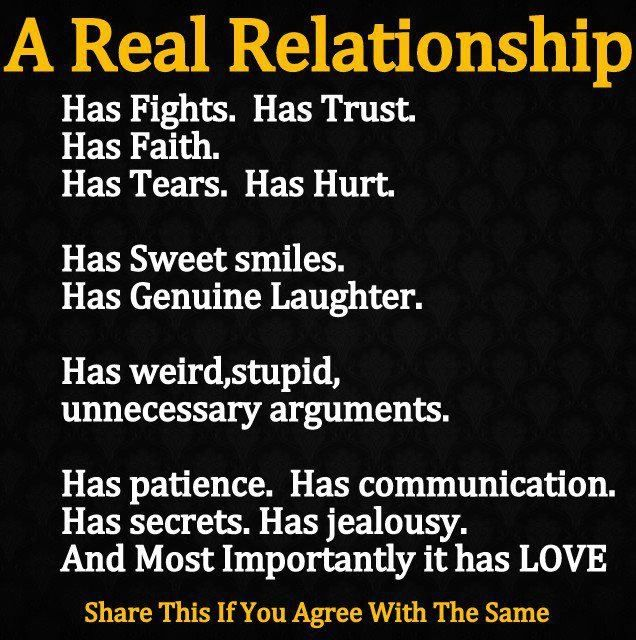 Wallpapers Quotes And Fun A Real Relationship