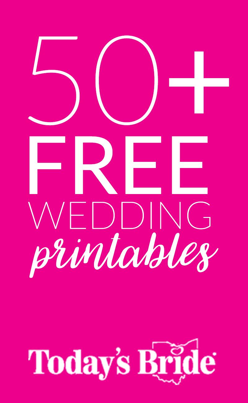 download 50 free wedding planning printables free printable