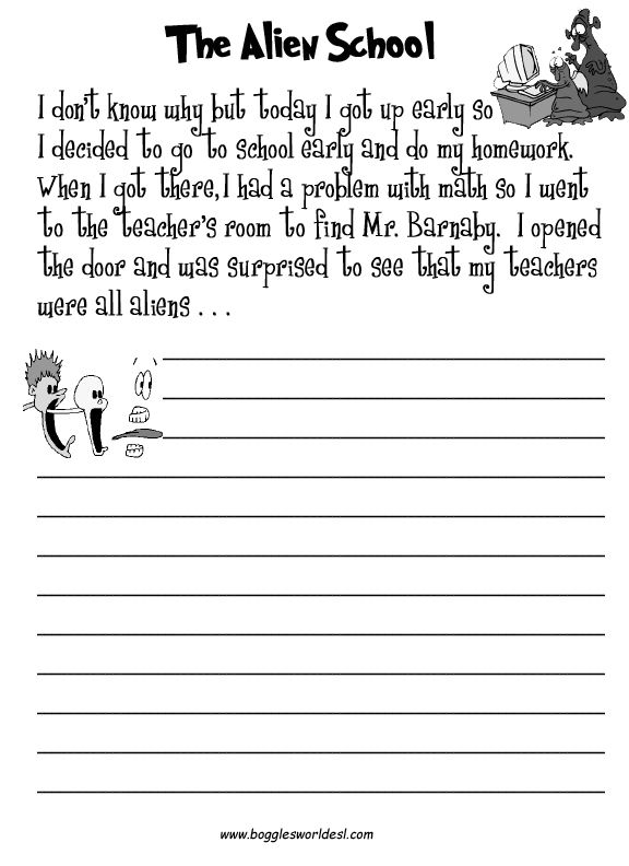 Creative Footprints Writing Prompts Creative Writing Worksheets, Writing  Worksheets, 2nd Grade Writing