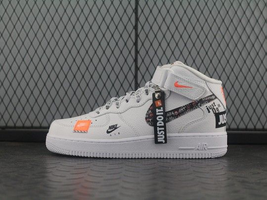 """online store 823c6 0a264 """"Just do it """"Nike Air Force 1 Mid AQ8650-100"""