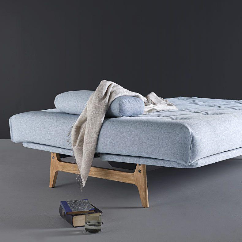 canapé lit clic clac de luxe Aslak Soft Spring Innovation DK