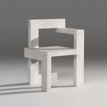 Steltman Chair Rietveld By Rietveld Gerrit Thomas Rietveld
