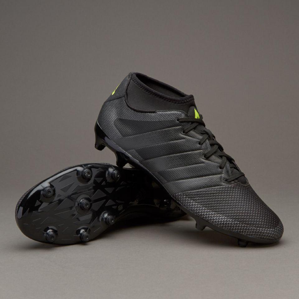 adidas ace 16.3 primemesh fg ag core black solar yellow
