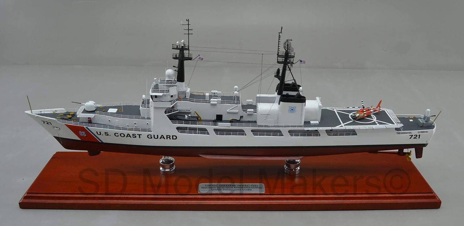US Coast Guard High Endurance Cutter Model (1/180 Scale) 25