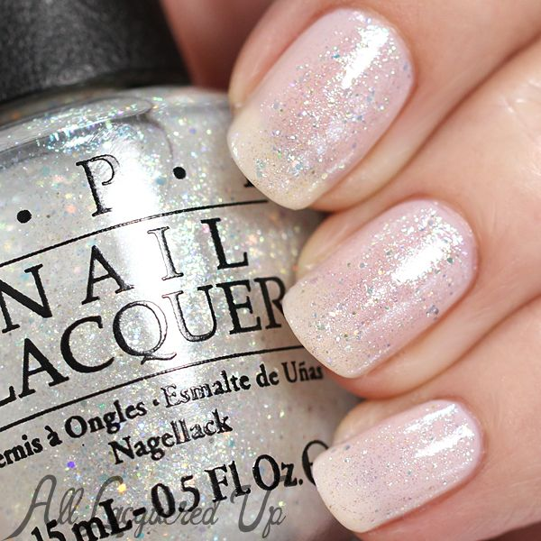 Opi Soft Shades 2015 Swatches Review Clear Glitter Nails Sparkly Acrylic Nails Sparkly Nails