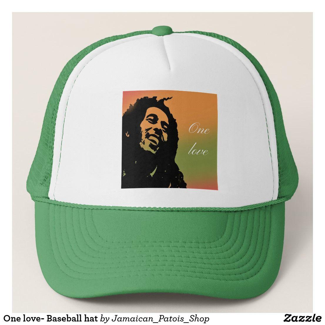 73ee617fe5c One love- Baseball hat  jamaican  patois  tshirt  flag  caribbean ...