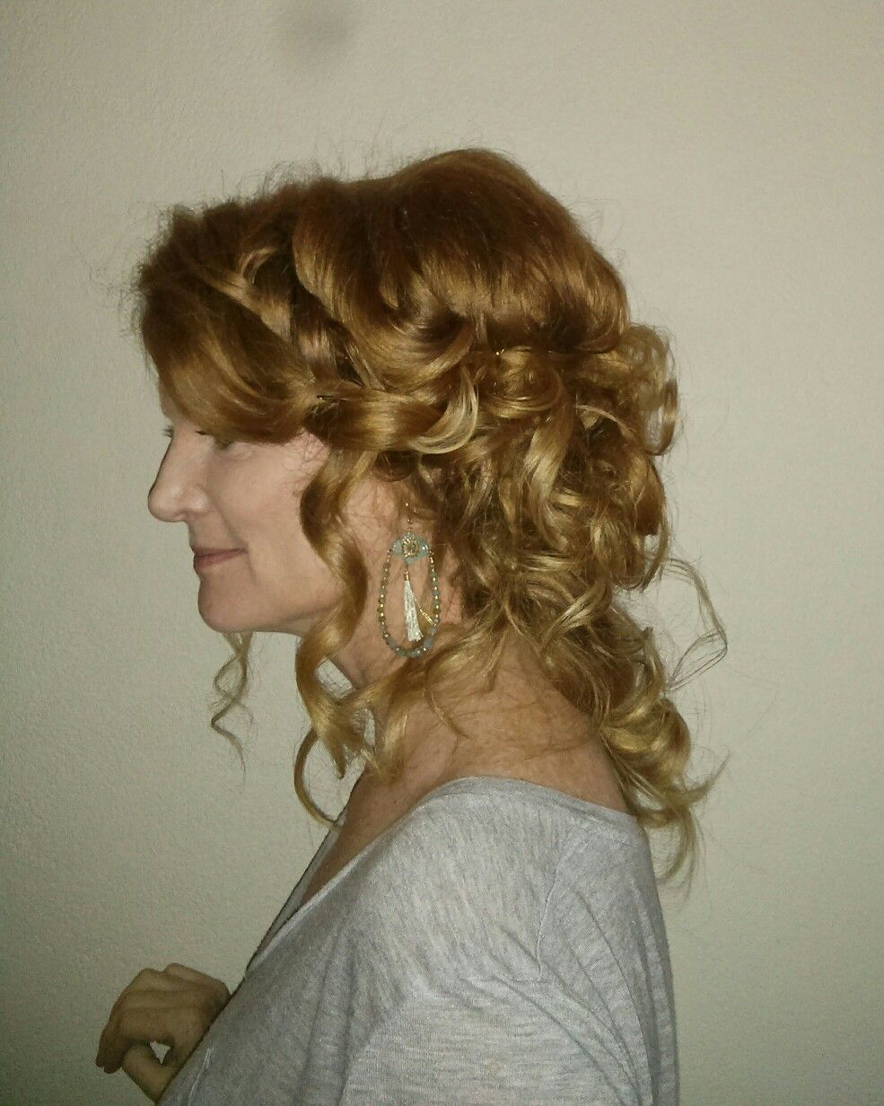 Pin by tammie garza on divine weddings bridal hair production