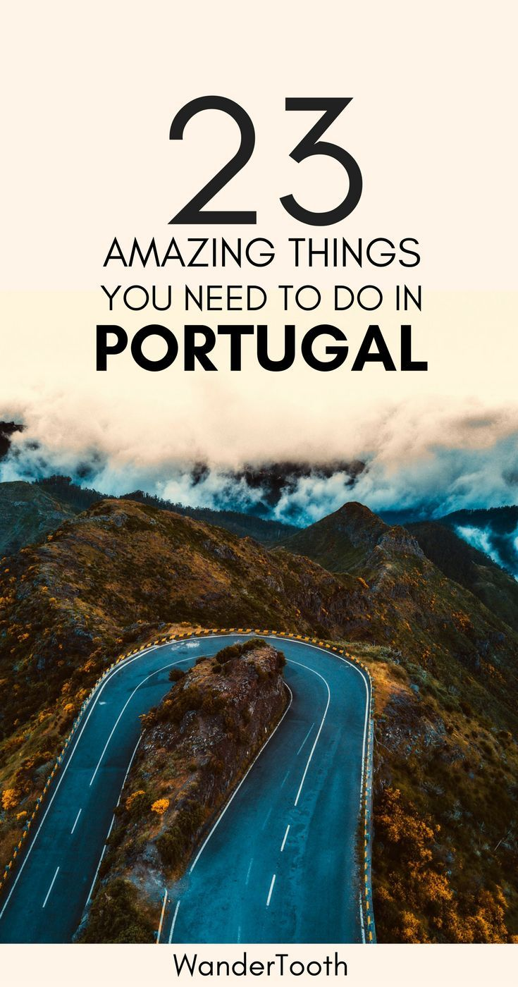 23 Beautiful Places to Visit in Portugal #traveltoportugal