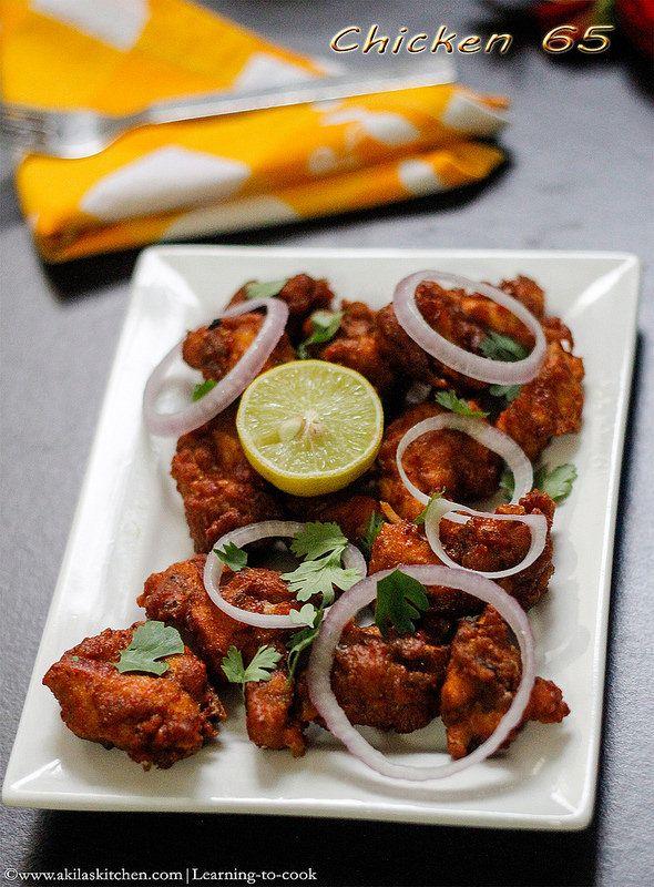 Chicken 65 | Easy chicken recipes, South indian chicken ...