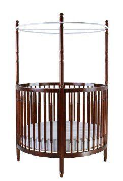 Amazon Com Dream On Me Sophia Posh Circular Crib Espresso Baby