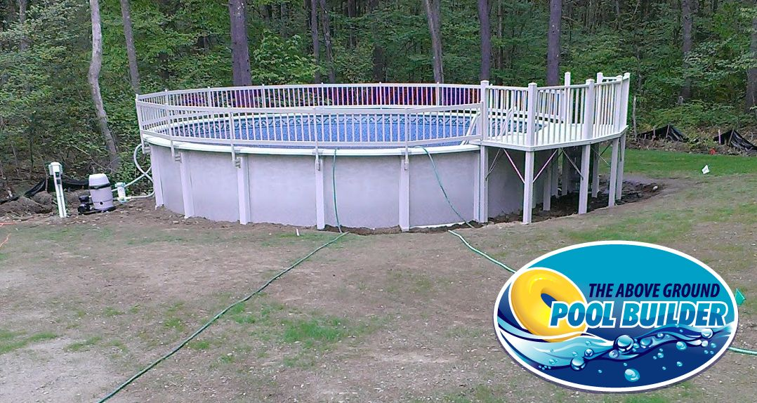 Pin By Above Ground Pool Builder On Our Above Ground Pool