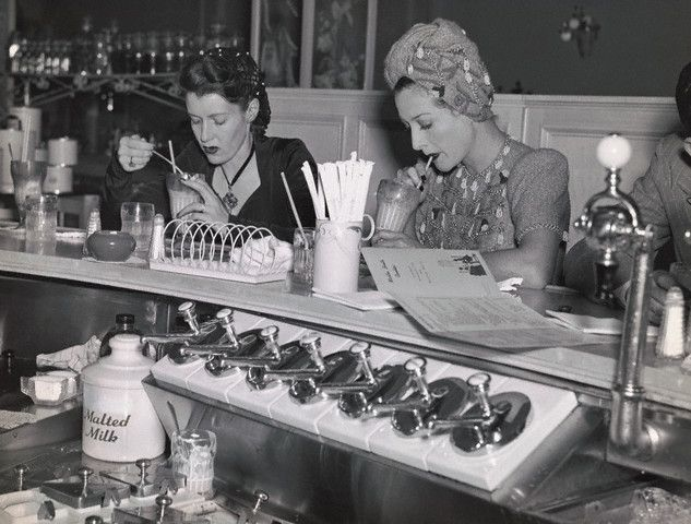 Vintage Soda Fountain | Miss Retro's Blog: Vintage Soda