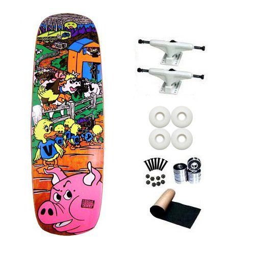 World Industries Mike Vallely Barnyard Re Issue Old School Skateboard Deck Complete By World Indust Skateboard Hardware Old School Skateboards Skateboard Decks