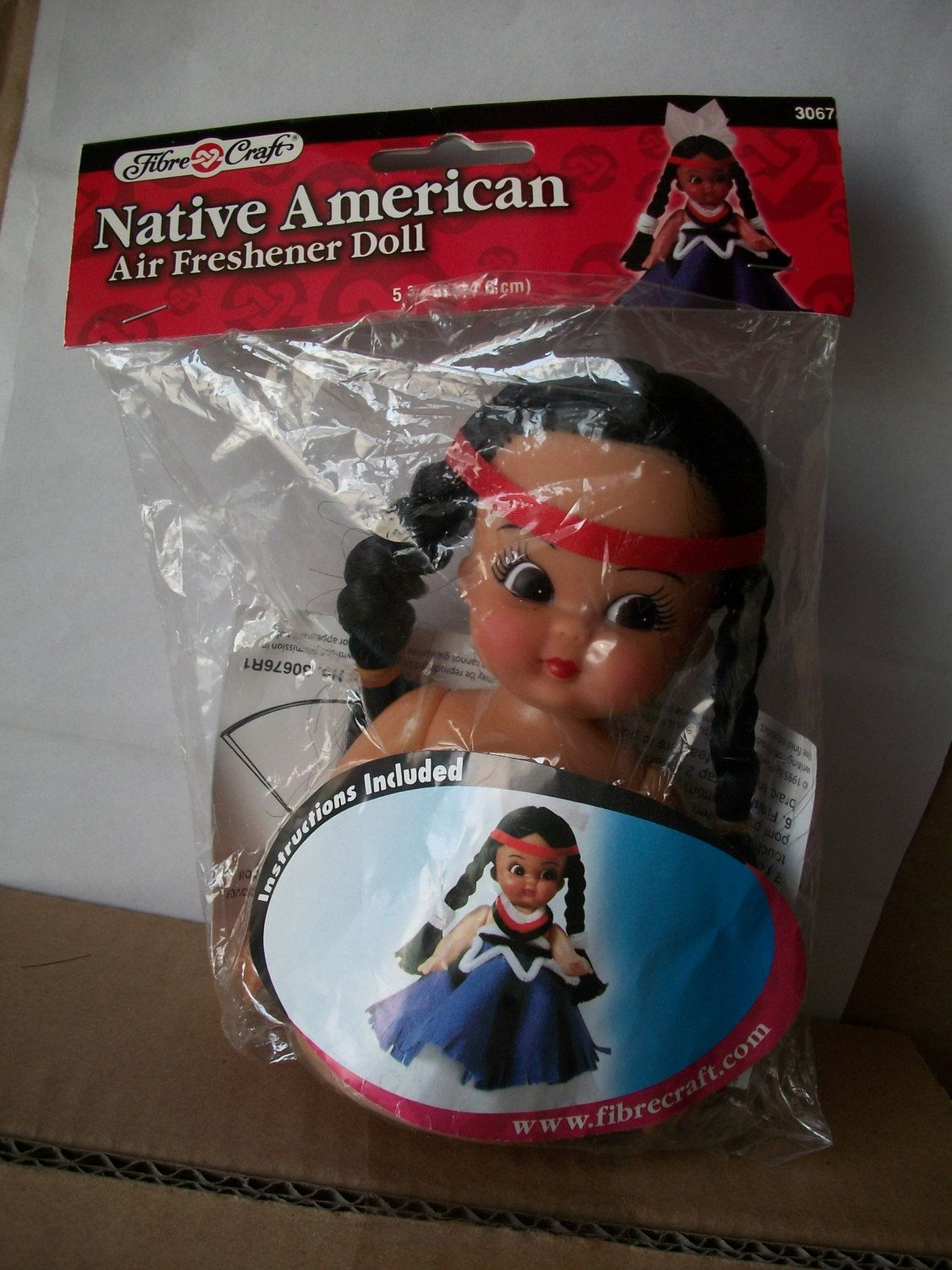 Fibre craft air freshener dolls - Native American Packaged Fibre Craft Air Freshener Doll Kit By Mooglamom On Etsy