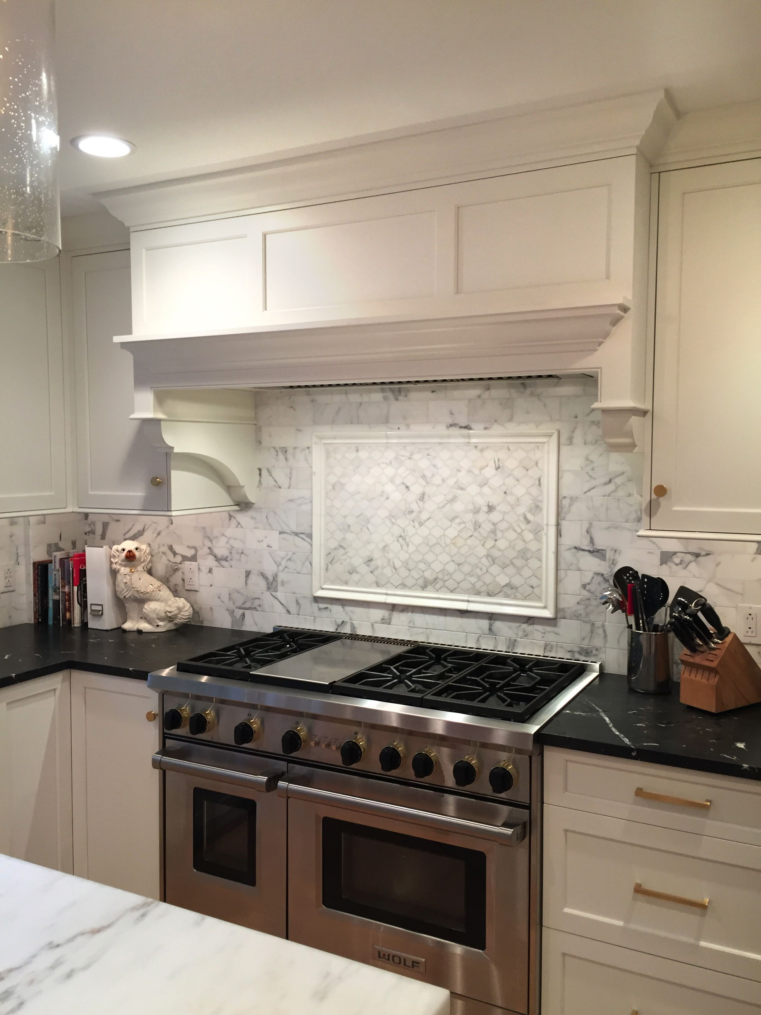 Contemporary Custom Cabinetry Classic White Updated Kitchen